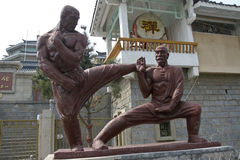 Statue of shaolin temple Stock Images