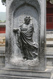 The shaolin temple Dharma patriarch statue royalty free stock image