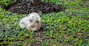 Statue Sheep garden Royalty Free Stock Photos