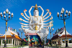 Statue of Shiva on Koh Samui island in Thailand Stock Photography