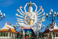 Statue of Shiva on Koh Samui island in Thailand Royalty Free Stock Image