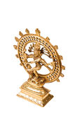 Statue of Shiva Nataraja - Lord of Dance isolated Stock Photos