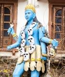 Statue of Shiva in Pushkar Stock Photo