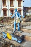 Statue of Shiva in Pushkar Royalty Free Stock Photos