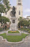 Statue of Simon Bolivar in Ecuador Stock Photos