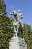 Statue of Simon Bolivar, Paris Royalty Free Stock Photo