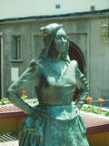 Statue of singer Mary Sanchez Playa Cantera Grand Canary Island Stock Photo