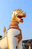 Statue of singha Royalty Free Stock Photo