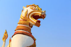 Statue of singha Stock Images