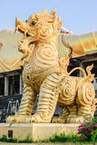The Statue Of Singha In Thailand Royalty Free Stock Image