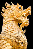 Statue Of Singha Stock Photo