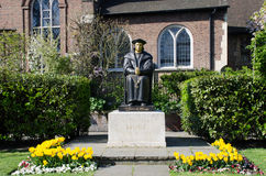 Statue of Sir Thomas Moore Royalty Free Stock Photos