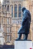 Statue of Sir Winston Churchill. Royalty Free Stock Photo