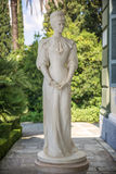 Statue of Sisi, Elisabeth of Bavaria, in Corfu, Greece Stock Photos