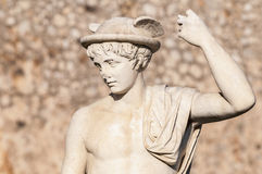 Statue on Sitges Fragata Square , Spain Stock Image