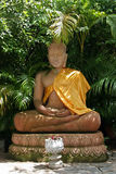 Statue of sitting Buddha Stock Images