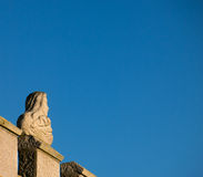 Statue and Sky Stock Photography