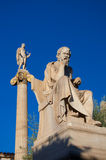 The statue of Socrates. Athens, Greece. Stock Photo