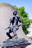 Statue of a soldier Royalty Free Stock Images