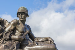 Statue soldier London Royalty Free Stock Images
