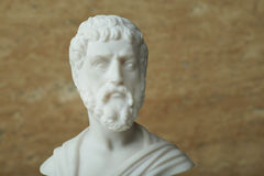 Statue of Sophocles,ancient greek poet. Royalty Free Stock Photography