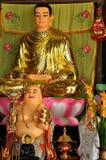 Statue sorridenti di Buddha nel Vietnam Immagini Stock Libere da Diritti