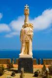 Statue of Spanish explorer Stock Photos