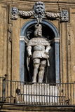 Statue of the Spanish king of Sicily Philip III Royalty Free Stock Photography