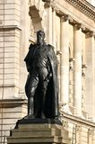 Statue of Spencer Compton, Duke of Devonshire. Royalty Free Stock Photos