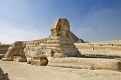 Statue of the Sphinx Stock Photos