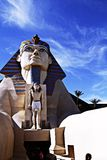 Statue of Sphinx from Luxor Hotel Casino Stock Image