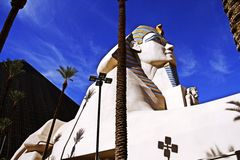 Statue of Sphinx from Luxor Hotel Casino Royalty Free Stock Images