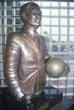 Statue at Springfield, MA Basketball Hall of Fame Royalty Free Stock Images