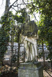 A statue in Square du Petit Sablon in Brussels Stock Photos