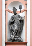 Statue of St. Adalbert, Kutna Hora, Czech Republic Stock Photo