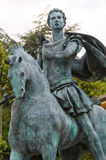 Statue of St. Antonino. Travo. Emilia-Romagna. Italy. Stock Photos