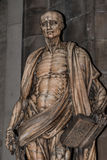 Statue of St. Bartholomew in Milano's Cathedral, Duomo, Italy Royalty Free Stock Images