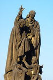 Statue of St. Cyril and St. Methodius Royalty Free Stock Images