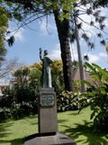 Statue of St Francis in the Municipal Gardens in Funchal on the Island of Madiera Royalty Free Stock Image
