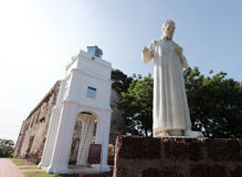 Statue St. Francis Xavier Stockbild