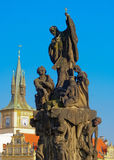 The statue of St. Francis Xavier Stock Photography