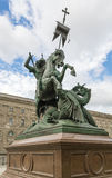 Statue of St George in Berlin Royalty Free Stock Photography