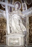 Statue of St. Helena in St. Peter's Basilica Stock Photos