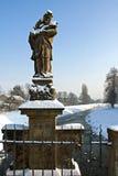 Statue of St. John of Nepomuk Royalty Free Stock Image