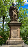 The statue of St. Jude Thaddeus royalty free stock image