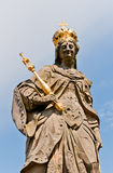Statue of St. Kunigunde, Bamberg Stock Image