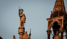 Statue at st marks Royalty Free Stock Images