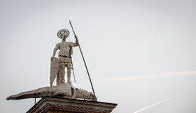 Statue st marks Stock Photo