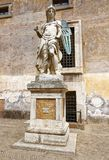 The statue of St Michael the Archangel Royalty Free Stock Photos