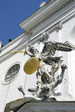 The statue of St. Michael in Vienna, Austria Stock Photo